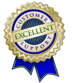 customer suppoer ribbon