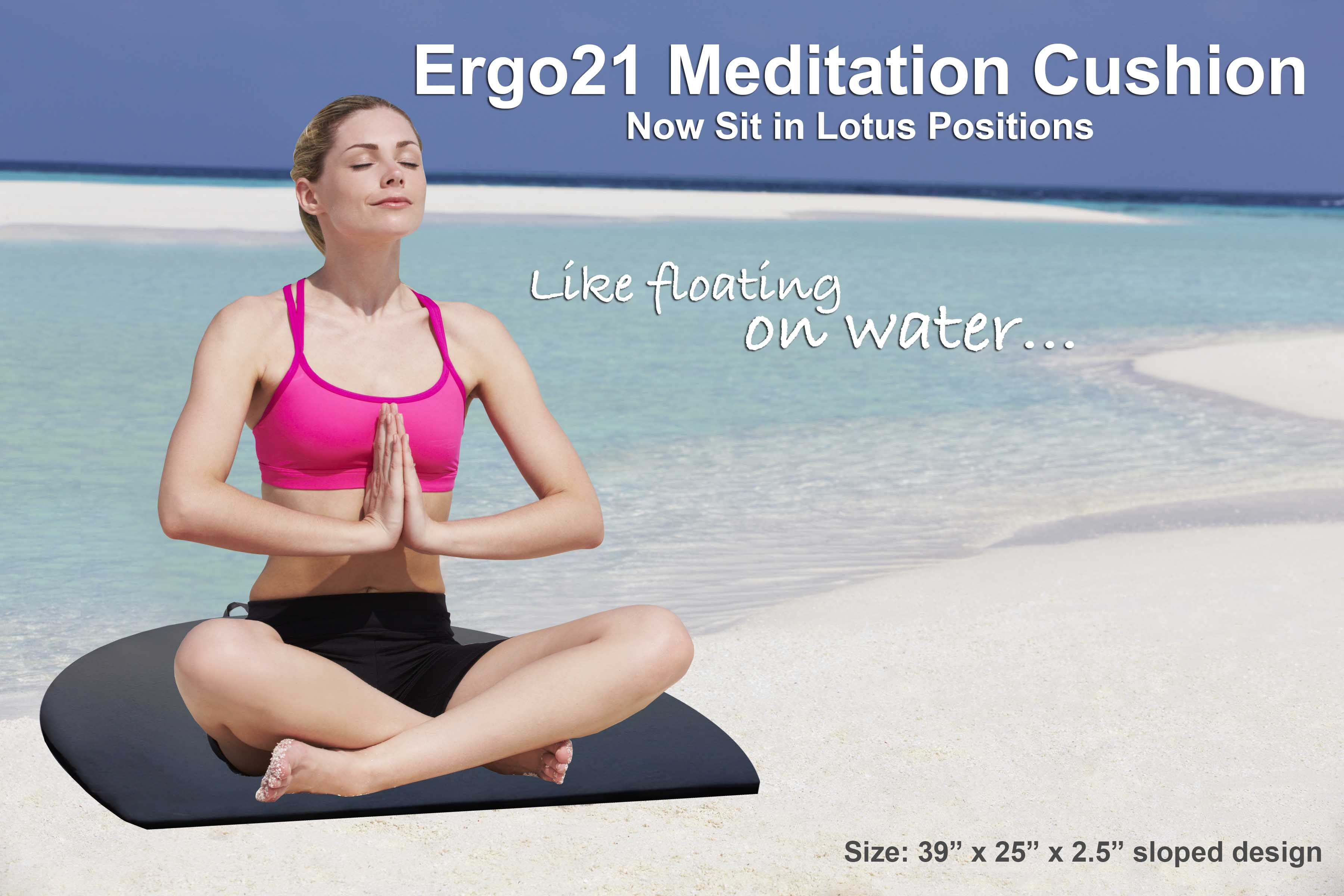 Meditation Cushion Large Lotus