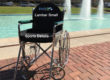 Lumbar sports wheelchair cushion